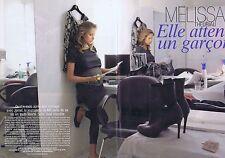 Coupure de presse Clipping 2008 Mélissa Theuriau (6 pages)