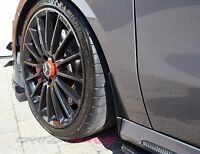 Mercedes Benz Arch/Stone/Mud Flap Guards GLOSS Pure Carbon Fibre A Class CLA