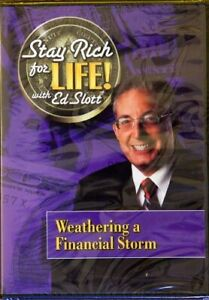 Stay Rich for Life! with Ed Slott: Weathering a Financial Storm (DVD) BRAND NEW