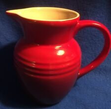 Le Creuset Red Ombre Creamer Pitcher 7L