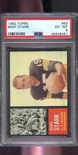 1962 Topps #63 Bart Starr Green Bay Packers PSA 6 Graded Football Card NFL