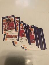 Burger King 1985 Huntsville Stars Jennings Complete 25 Card Set NM/Mt MT Canseco
