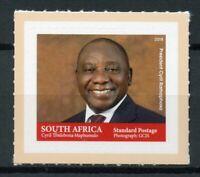 South Africa 2018 MNH President Cyril Ramaphosa 1v S/A Set Politicians Stamps