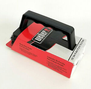 Weber Heavy Duty Grate BBQ Grill Scrubber 3 Pack Replaceable Pads