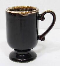 Pfaltzgraff Brown Drip Pedestal Coffee Mug