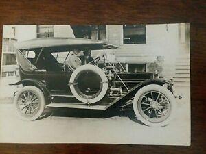 RPPC Real Photo Postcard Pierce-Arrow early 1900s