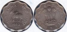 India 1950 1 Anna (Bull Coin) KM-3.1 CU-NI Mumbai Mint BUNC  - US Seller