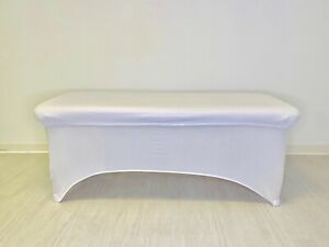 Massage Facial Bed Cover Protector Topper  Black White