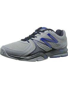Mens New Balance MX1267 Training/Running Shoes MX1267GO Grey/Navy SZ 11 4E Wide