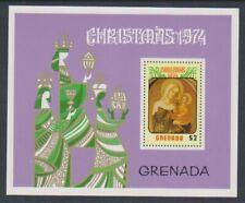Grenada - 1974, Christmas sheet - MNH - SG MS648