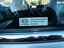 KIA WINDOW ALARM STICKERS SPORTAGE SORENTO GPS KX 3 KX KX2 KX3 KIA SPORT R CEED
