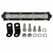 1PCS White LED Light 7inch 18W Bar Spot OFFROAD FOG DRIVING LAMP 4WD SUV ATV