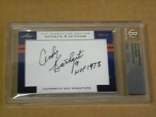 Andy Bathgate, 2012 Leaf Cut Signature - Sports Icons, Beckett Encapsulated