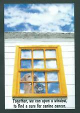 Guide Dog Postal card - Canine Cancer - Double Cancels - # 2266 First Day Issue