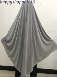 Muslim Women Nikab Burka Overhead Jilbab Long Hijab Abaya Khimar Headscarf Dress