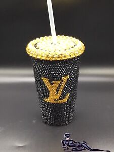 Custom Bling Tumbler Drink Cup 20oz  Rhinestone Personalized Option