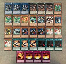Yu-Gi-Oh! Schwarzflügel / Blackwing / Simorgh - Deck ALLE Karten Deutsch!
