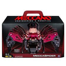 Meccano Erector MeccaSpider Robot Kit For Kids to Build STEM Programmable NEW
