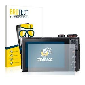 Canon Powershot G9 X Mark II, BROTECT® AirGlass® Premium Glass Screen Protector