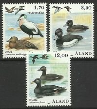 ALAND. 1987. Birds Set. SG: 25/27. Mint Never Hinged.