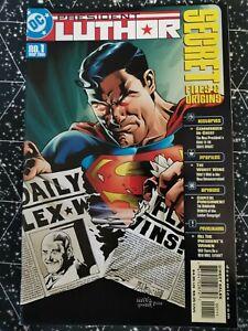 Secret Files President Luthor #1 March 2001 DC Comics