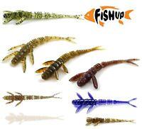 "Fishing Lures Soft Plastic Bait 7-10pcs FISHUP FLIT 4"" 10cm Jig Head Drop LRF"