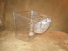 Longaberger Card Keeper Basket Divided Protector