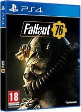 FALLOUT 76 PS4 ITALIANO VIDEOGIOCO PLAY STATION 4 COPERTINA ITALIANA GIOCO PAL