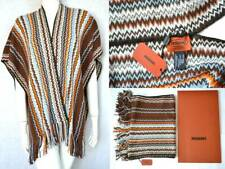 MISSONI LUXUS PONCHO UMHANG 50% WOLLE EDEL one size S M L XL UVP 249 € NEW OVP