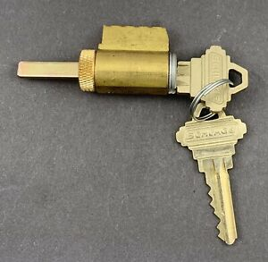 Schlage Everest S123 Key In Knob B660 Tail Piece Lever Cylinder For Deadbolts
