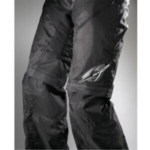 Alloy Havoc Sobre El Arranque Moto Motocross Motocicleta Enduro Pants Negro /