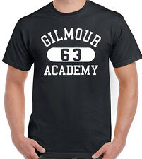 Gilmour Academy T-Shirt Mens As Worn By Dave Gilmour Guitar Pink Floyd Music 63