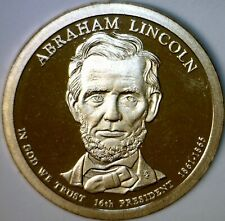 2010s PROOF CAMEO Abraham Lincoln $1 Coin ~ Nice PRF One Dollar Lot #1     NR