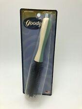Vintage 1999 Goody Round Styling Hair Brush Green White NOS USA