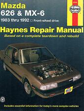 1983-92 MAZDA 626 & MX-6 - front-wheel drive - Repair Manual