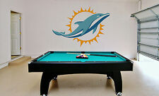 Miami Dolphins are a professional American Football Wall Decal Vinyl Sticker