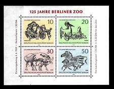 GERMANIA (BERLINO) - BF - 1969 - 125° anniversario dello Zoo di Berlino