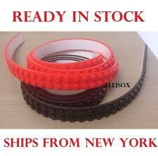 NEW 4PCS BLOCK TOY Lego Brick Compatible Tape Flexible Strips 4 Rolls (4 x 3.2')