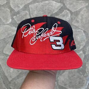 Vtg 90s Dale Earnhardt Sharktooth Snapback Hat Cap Logo Athletic Chase Headwear