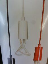 Original Plumen Drop Cap + Pendant Set White Screw E27 by Hulger