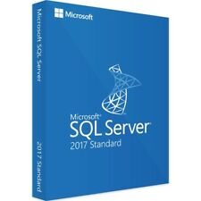MICROSOFT SQL SERVER 2017 STANDARD + 10 CAL ESD KEY MULTILANGUAGE FATTURA