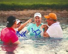 Brittany Lincicome signed Lpga 8x10 Ana Poppy'S Pond photo with Coa