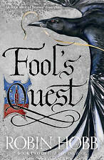 Fitz and the Fool (2) -Fool's Quest by Robin Hobb Paperback Book CLEARANCE STOCK