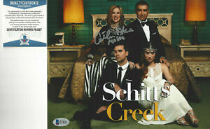 Schitt's Creek CATHERINE O'HARA autograph 8x10 photo Beckett Certified
