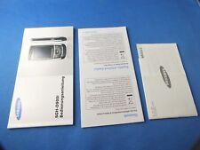 Original Samsung sgh-d900i Manuel d'utilisation INSTRUCTIONS Livre allemand Book Nau