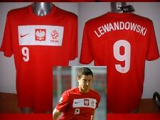 Poland LEWANDOWSKI Adult XL Nike BNWT Shirt Jersey Football Soccer Polska Bayern