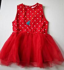 Oobi Baby Girl's Marmalade Scarlet Dress Size 2