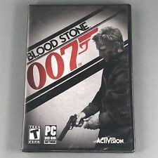 James Bond 007 Blood Stone (Bloodstone PC, 2010) - RARE PC DVD