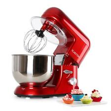 Klarstein: 1200W Küchenmaschine Rühr Knetmaschine Standmixer Teigkneter 1,6 PS