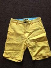 NEW Golf Wang Chino Shorts - Bright Yellow - Size 28 - FREE SHIPPING